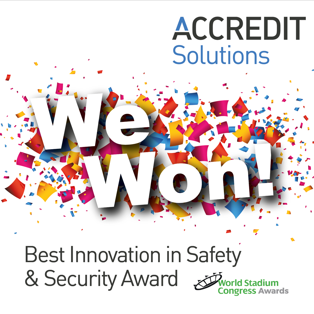 Accredit Solutions Wins Innovation in Safety and Security Award in Amsterdam