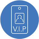 Unlimited badge types and templates with access zone control