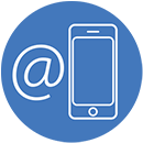Fully automated communications suite via email and SMS