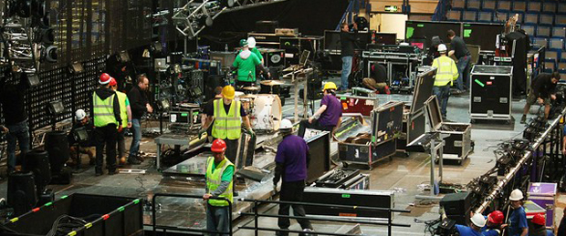 How are contractors entering your venue or event?