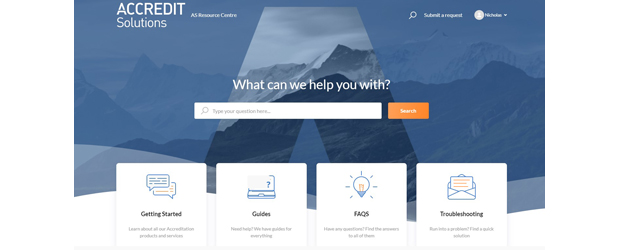 Accredit Solutions Launches Client Resource Centre